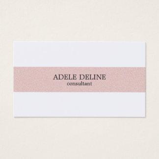 Minimaal Schoon Bord - het roze Wit van de Streep