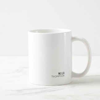 minimaal van het minimalistische stijl elegante koffiemok