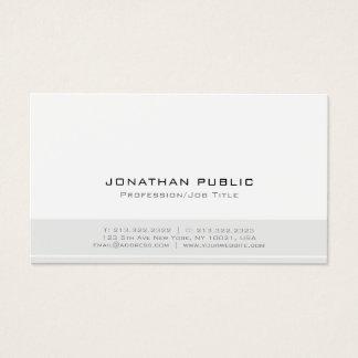 Minimalistisch Modern Professioneel Elegant Visitekaartjes