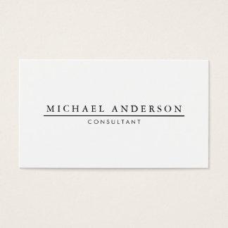 Minimalistische Elegant Visitekaartjes