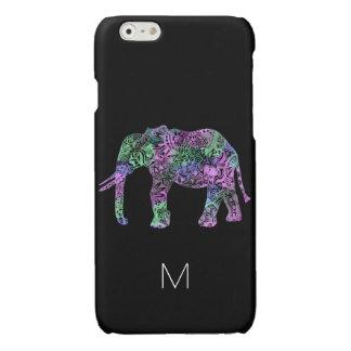 minimalistische kleurrijke stammen iPhone 6 hoesje glanzend