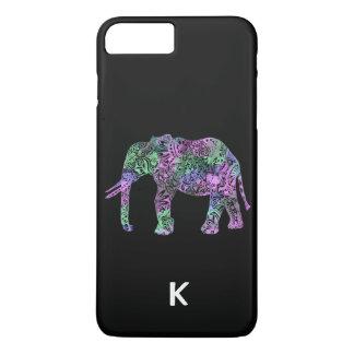 minimalistische kleurrijke stammen iPhone 8/7 plus hoesje