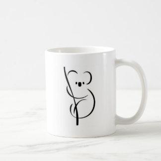 Minimalistische Koala Koffiemok