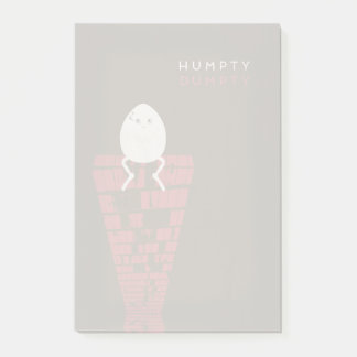 Minimalistische Sprookjes | Humpty Dumpty Post-it® Notes