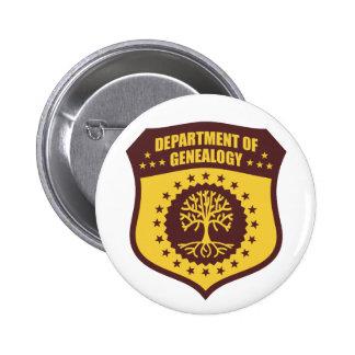 Ministerie van Genealogie Speld Button