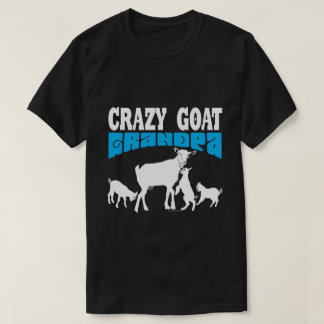 Minnaar   de Gekke Opa Blauwe GYG van de GEIT van T Shirt