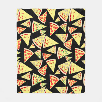 Minnaar van de Pizza van het Patroon van de pret Fleece Deken