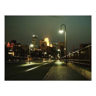 Minneapolis Foto Afdruk
