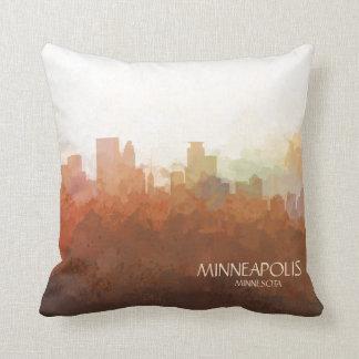 Minneapolis, Minnesota horizon-in de Wolken Sierkussen