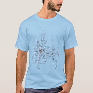 Minneapolis-St. Paul Transit Routes T Shirt
