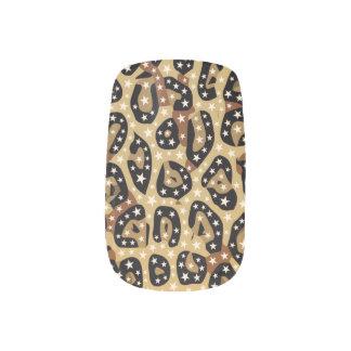 Minx van Bling van de Druk van de jachtluipaard Minx Nail Folie