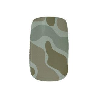 Minx van de camouflage Spijkers Minx Nail Art