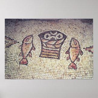 Mirakel van het Brood en de Vissen Poster