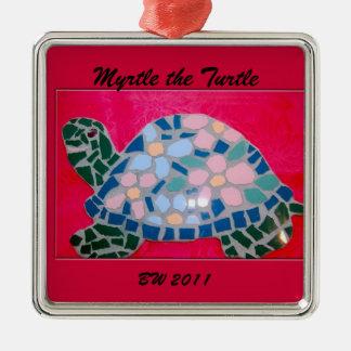 Mirte het Ornament van de Schildpad
