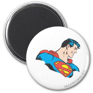 Mislukking 4 van de superman ronde magneet 5,7 cm