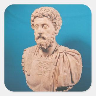 Mislukking van Marcus Aurelius Vierkante Sticker