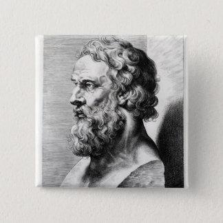 Mislukking van Plato door Lucas Emil wordt Vierkante Button 5,1 Cm