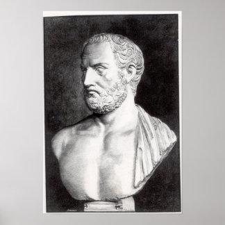 Mislukking van Thucydides, die door Barbant wordt  Poster