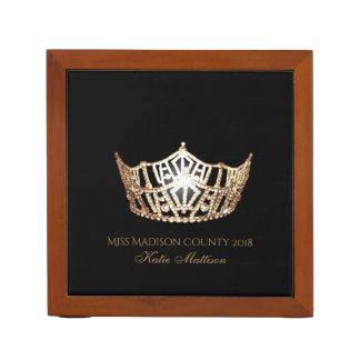 Misser America Gold Crown Wood de Pennenhouder