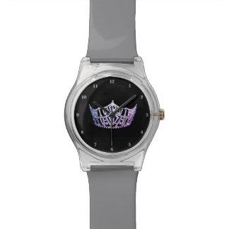 Misser America Lavender Crown mag 28ste Horloge