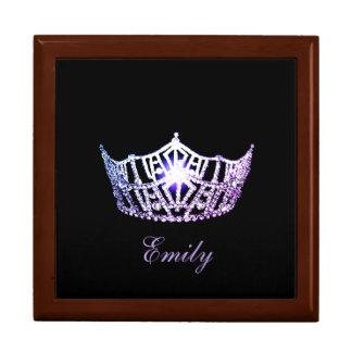 Misser America Lilac Crown de Doos van Personal Decoratiedoosje