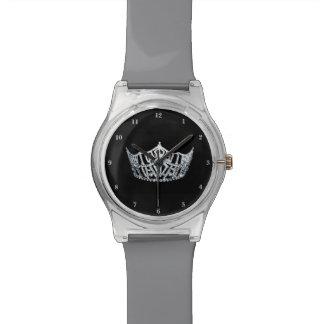 Misser America Silver Crown mag 28ste Horloge