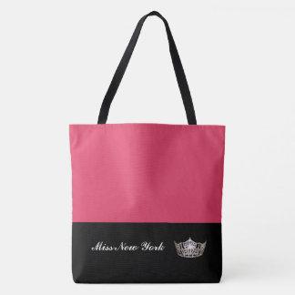 Misser America Silver Crown Tote zak-Grote Draagtas