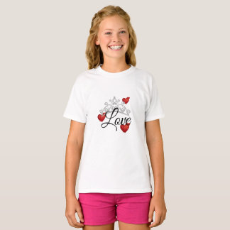 Misser America Tiara Pageant Girls Hoogste Liefde T Shirt