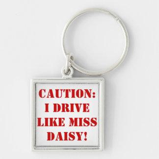 Misser Daisy Keychain Sleutelhanger