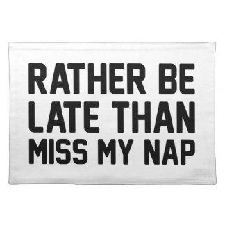Misser My Nap Placemat