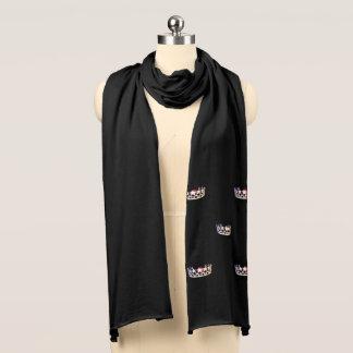 Misser USA de Zilveren Sjaal van de Kleding van de Sjaal