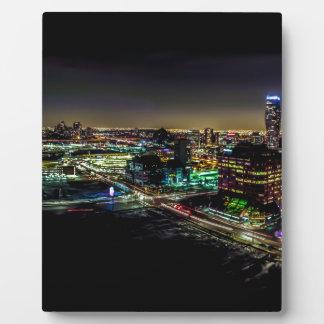 Mississauga, Ontario bij Nacht Fotoplaat