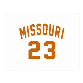 Missouri 23 Design van de Verjaardag Briefkaart