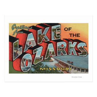 Missouri - Meer van Ozarks 2 Briefkaart