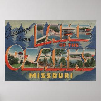 Missouri - Meer van Ozarks 2 Poster