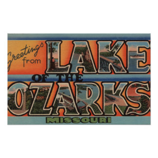 Missouri - Meer van Ozarks 3 Poster