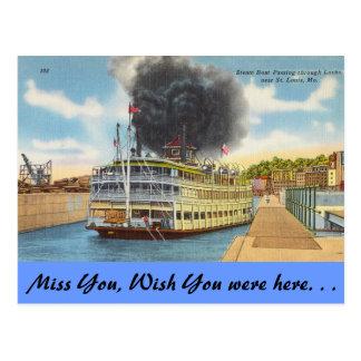 Missouri, Stoom in Sloten, St.Louis Briefkaart