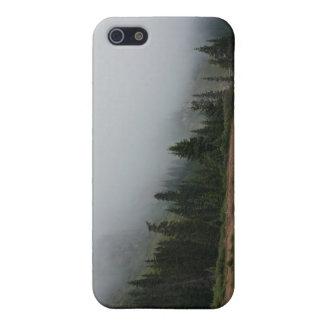 Mistig iPhone5c hoesje van de Scène van de Berg iPhone 5 Hoesje