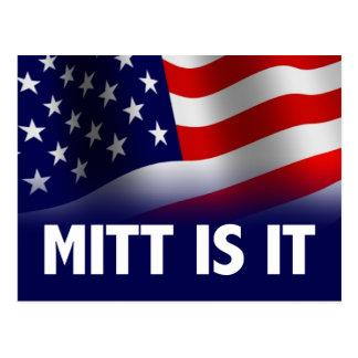 Mitt is het - Romney Ryan 2012 Briefkaart