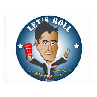 Mitt Moeilijke situatie het - Paul Ryan Briefkaart