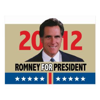 Mitt Romney 2012 Briefkaart