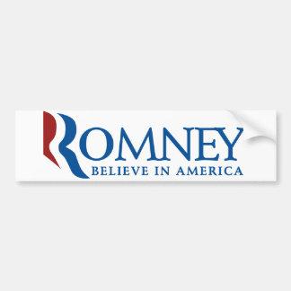 Mitt Romney 2012 Bumpersticker