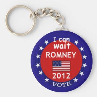 Mitt Romney 2012 Keychain Sleutelhanger