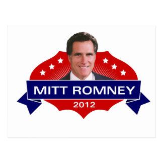 Mitt Romney 2012 voor President Briefkaart