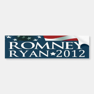 Mitt Romney Paul Ryan Election 2012 Bumpersticker