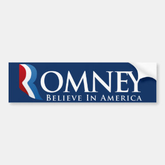 Mitt Romney voor President Bumpersticker
