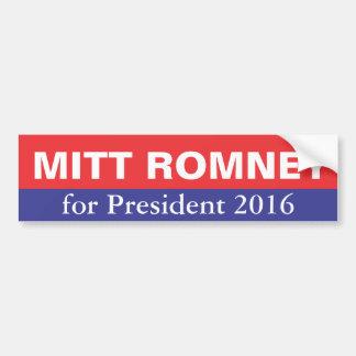 Mitt Romney voor President in 2016 Bumpersticker