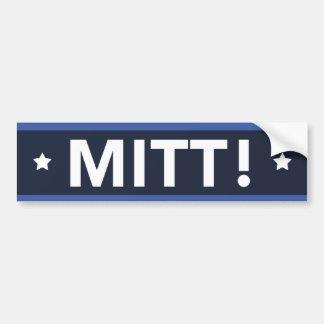 MITT van Ryan van Romney! (De Donkerblauwe) Sticke Bumpersticker