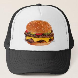 Mmmm Cheeseburger Trucker Pet