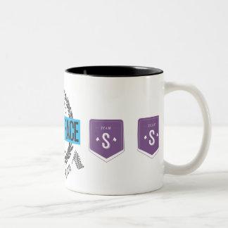 Mmmm Koffie Tweekleurige Koffiemok